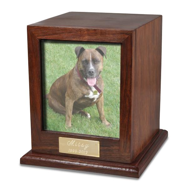 Wholesale Pet Cremation Wood Urns Elegant Photo Wood Dog