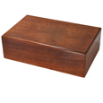 Wholesale Pet Cremation Wood Urns: Engravable Dog Wood Pet Urn
