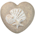 Wholesale Circle of Life Eco Urn: Shells Starfish Heart Medium beachstone