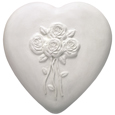 Wholesale Circle of Life Eco Urn: Heart with Roses
