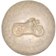 Wholesale Circle of Life Eco Urn: Motorcycle Beach Stone
