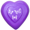 Wholesale Circle of Life Eco Urn: Purple Heart with Butterflies
