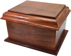 Wholesale Stately Wood Large Pet Urn
