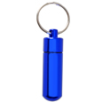 Wholesale Cremation Keychain Aluminum Urn Keepsake Blue