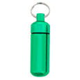 Wholesale Cremation Keychain Aluminum Urn Keepsake Green