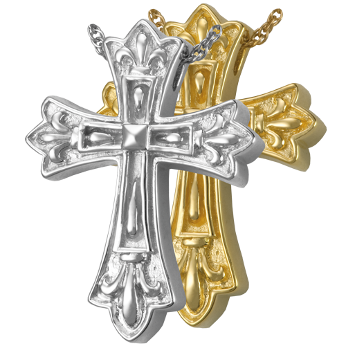 Wholesale Cremation Jewelry Ornate Cross