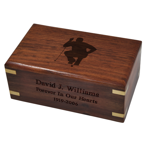 wooden box clipart. wholesale perfect wooden box urn shown engraved with golfer clip art clipart