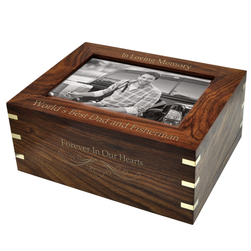 Wholesale Cremation Urns Perfect Wooden Box Urn With