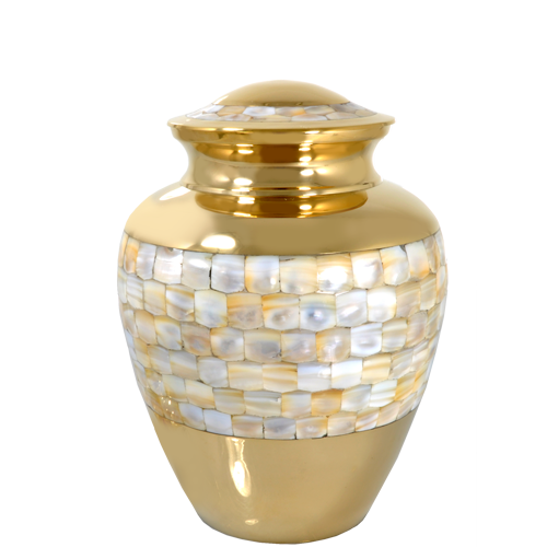 Wholesale Cremation Urns: Mother of Pearl Sharing Urn