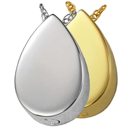 wholesale cremation jewelry slide teardrop