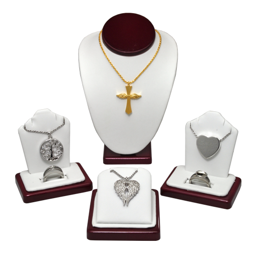 Wholesale Cremation Jewelry Display 6-Piece Starter Kit