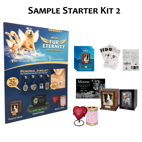 Fur Eternity Deluxe All-in-One Display Kit 2