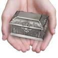 interior view of wholesale guardan angel urn keepsake