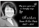 Wholesale Photo Laser Engraved Granite Flat Headstone- 2