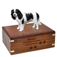 Wholesale Cavlier King Charles Spaniel Figurine Urn with engraved front