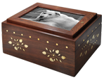 Wholesale Photo Wood Dog Urn Chest