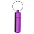 Wholesale Cremation Keychain: Aluminum Urn Keepsake Purple