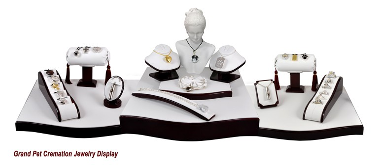 NMD Grand Pet Cremation Jewelry Display
