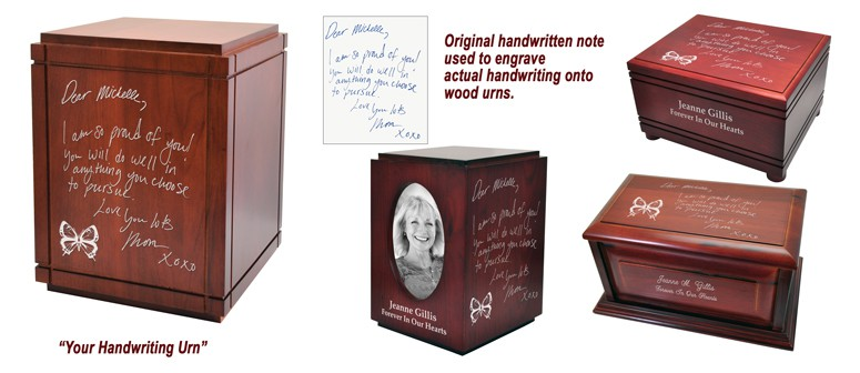 Your Handwriting Urn