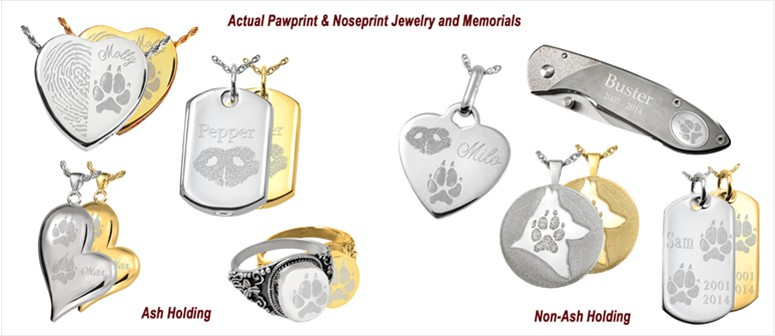 Wholesale Pet Noseprint Pawprint Jewelry