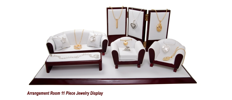Arrangement Room 11 Piece Cremation Jewelry Display